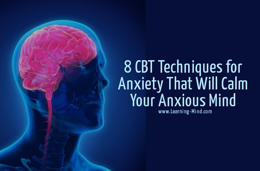 cbt techniques for anxiety