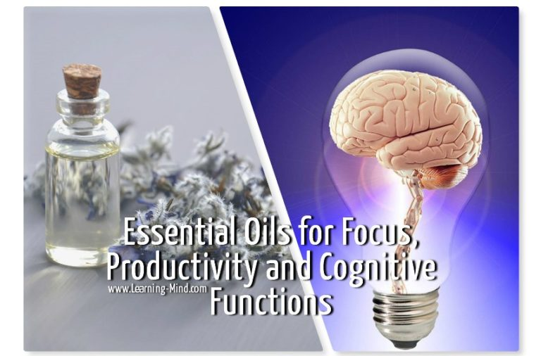 Essential Oils for Focus, Productivity and Cognitive Functions