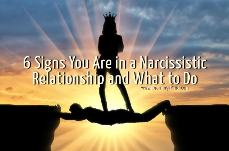 6 Signs You Are in a Narcissistic Relationship and What to Do