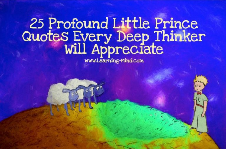 25 Profound Little Prince Quotes Every Deep Thinker Will Appreciate