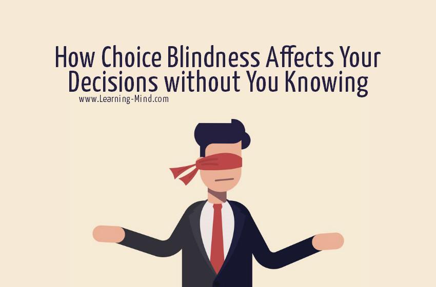 Choice Blindness