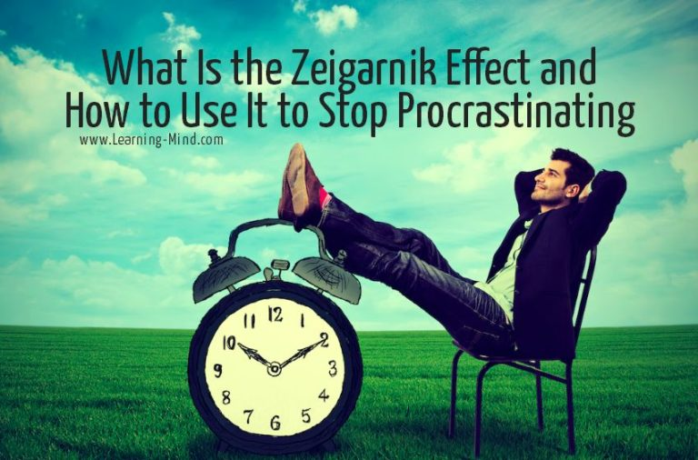 What Is the Zeigarnik Effect and How to Use It to Beat Procrastination