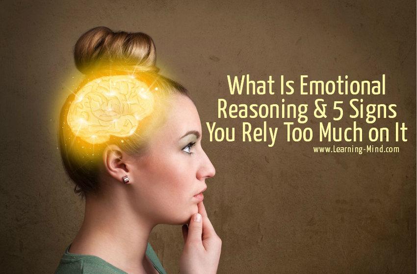 emotional reasoning signs
