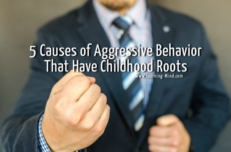 5 Causes of Aggressive Behavior That Have Childhood Roots