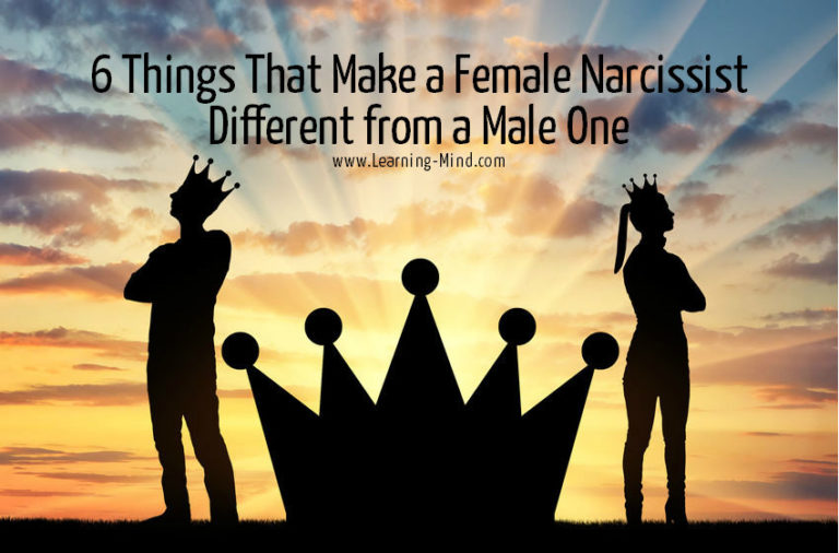 6 Things That Make a Female Narcissist Different from a Male One