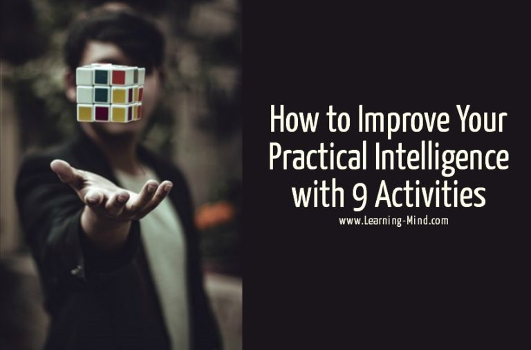 How to Improve Your Practical Intelligence with These 9 Activities