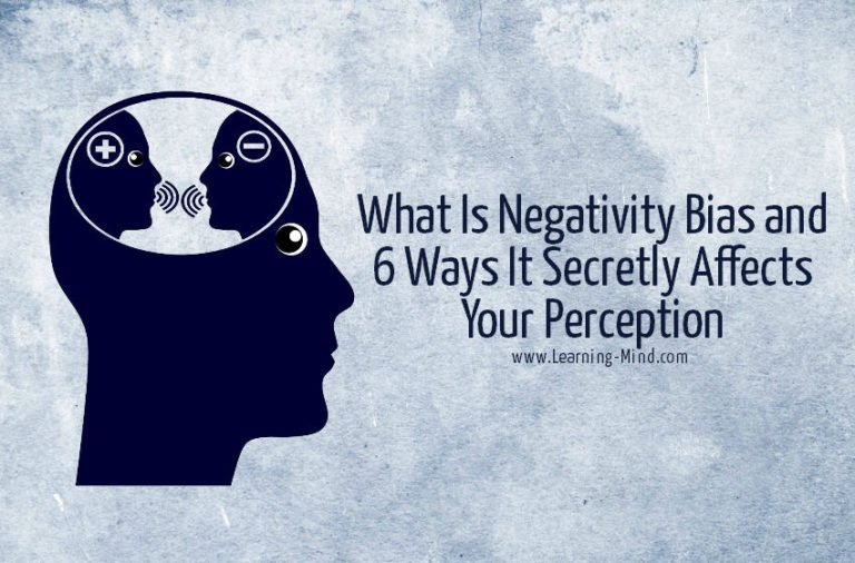 What Is Negativity Bias and 6 Ways It Secretly Affects Your Perception