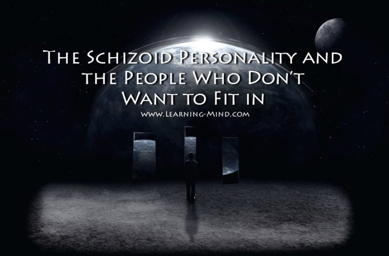 The Schizoid Personality and the People Who Don't Want to Fit in