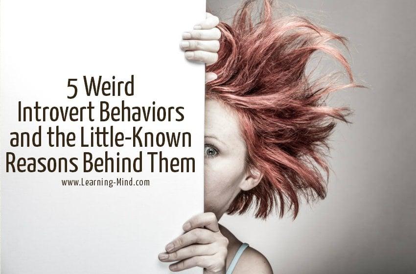weird introvert behaviors reasons