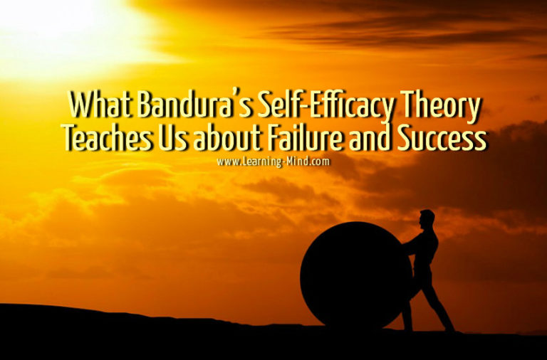 What Bandura's Self-Efficacy Theory Teaches Us about Failure and Success
