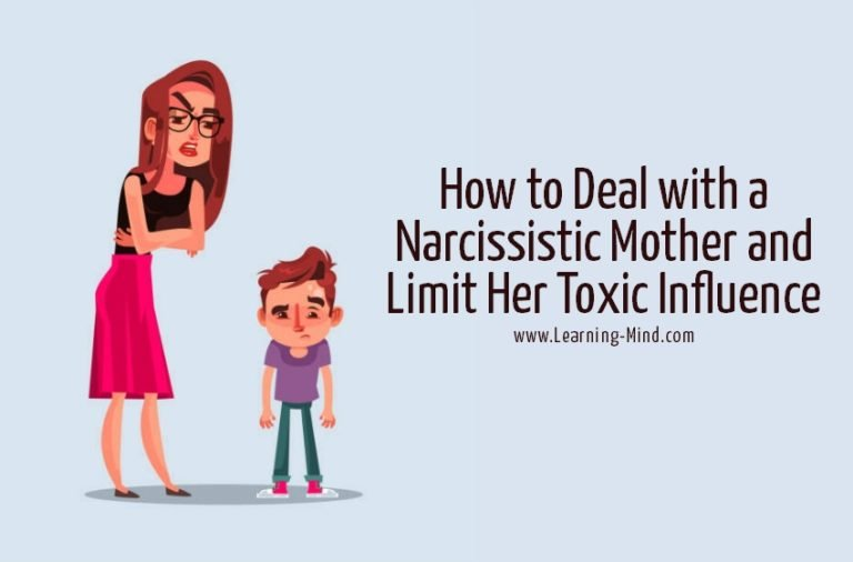 How to Deal with a Narcissistic Mother and Limit Her Toxic Influence