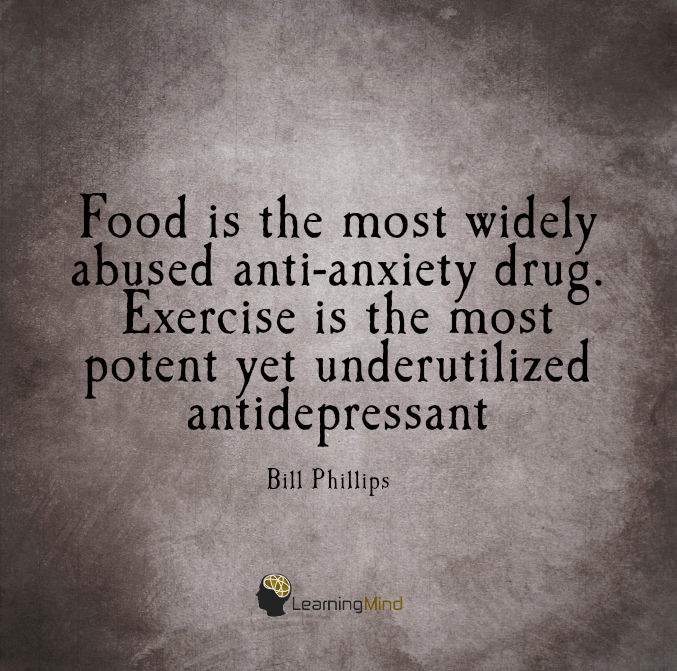 Food is the most abused anti-anxiety drug