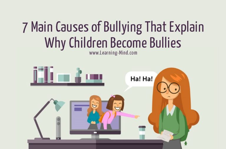7 Main Causes of Bullying That Explain Why Children Become Bullies
