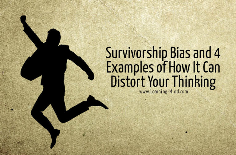 Survivorship Bias and 4 Examples of How It Can Distort Your Thinking