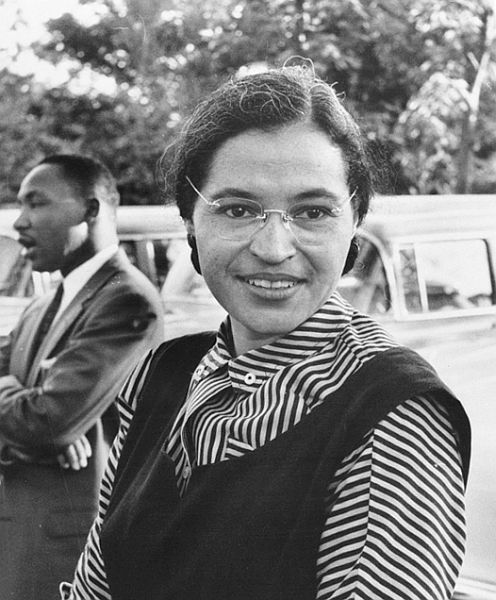 famous introverts Rosa Parks