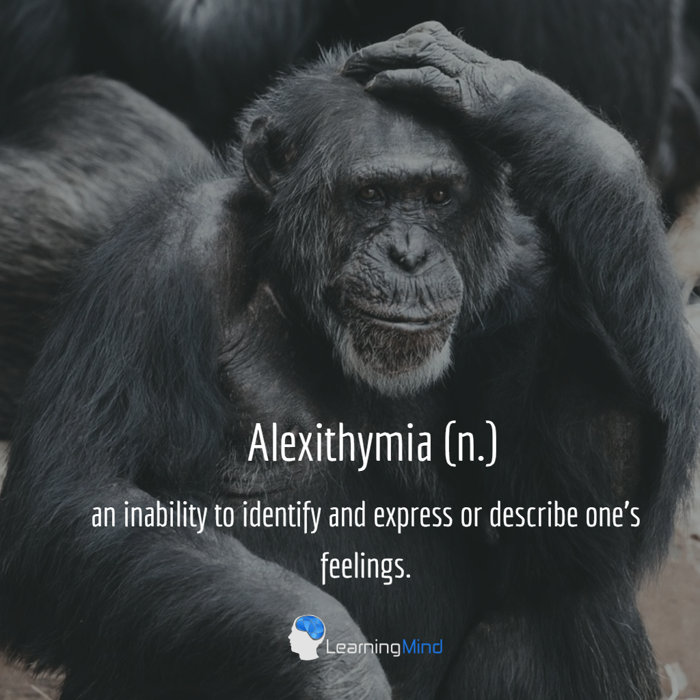 Alexithymia definition