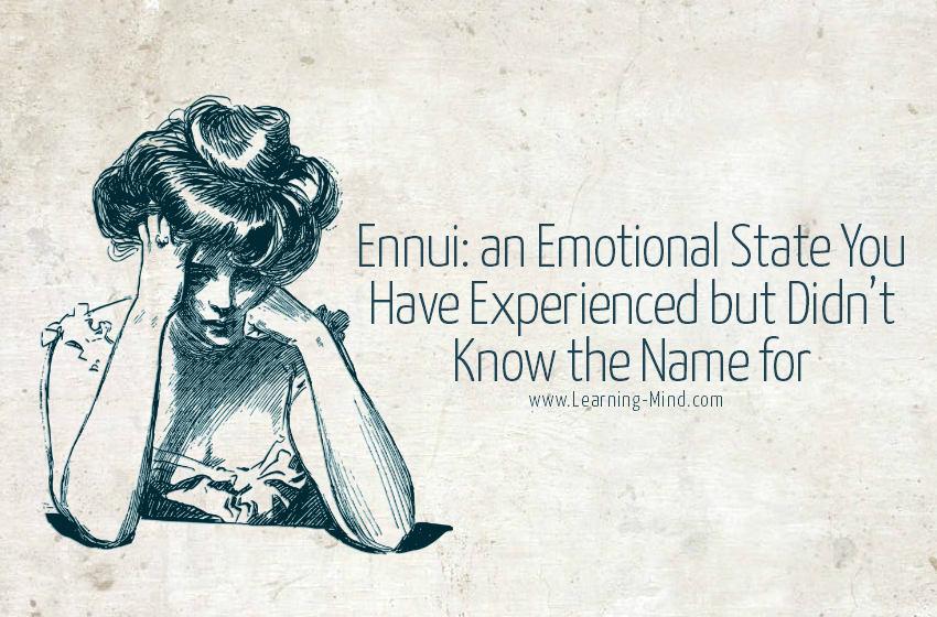 ennui emotion