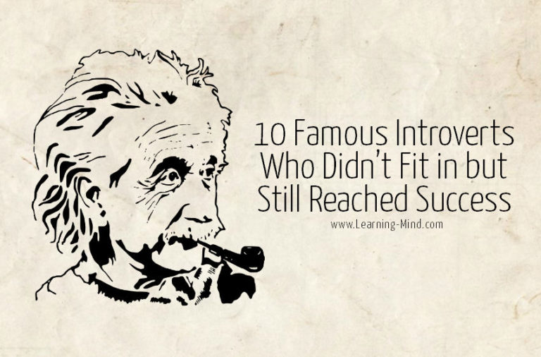 10 Famous Introverts Who Didn't Fit in but Still Reached Success