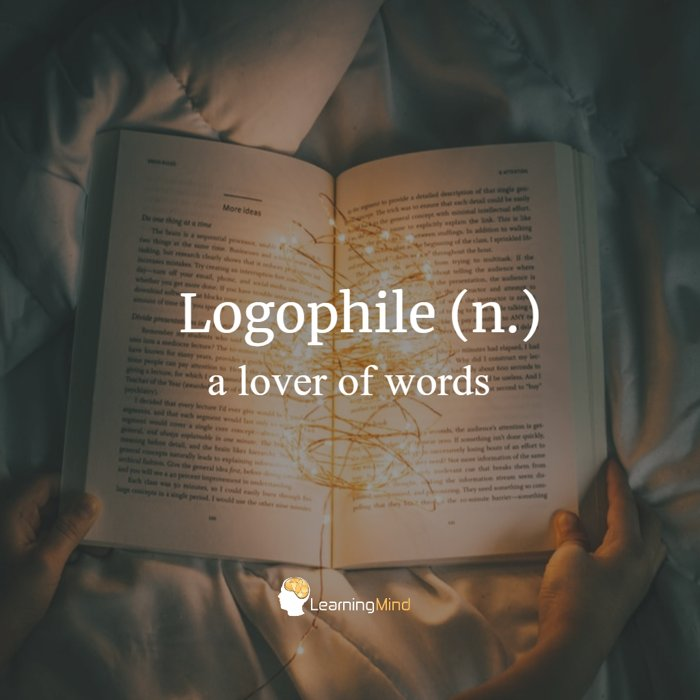 logophile definition