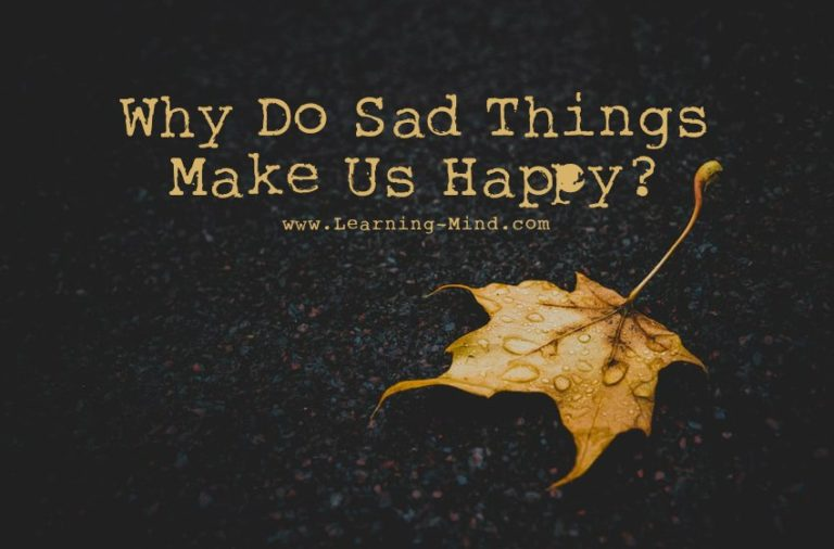Why Sad Things Make Us Happy, According to Psychology