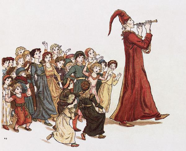 Pied Piper fairy tales