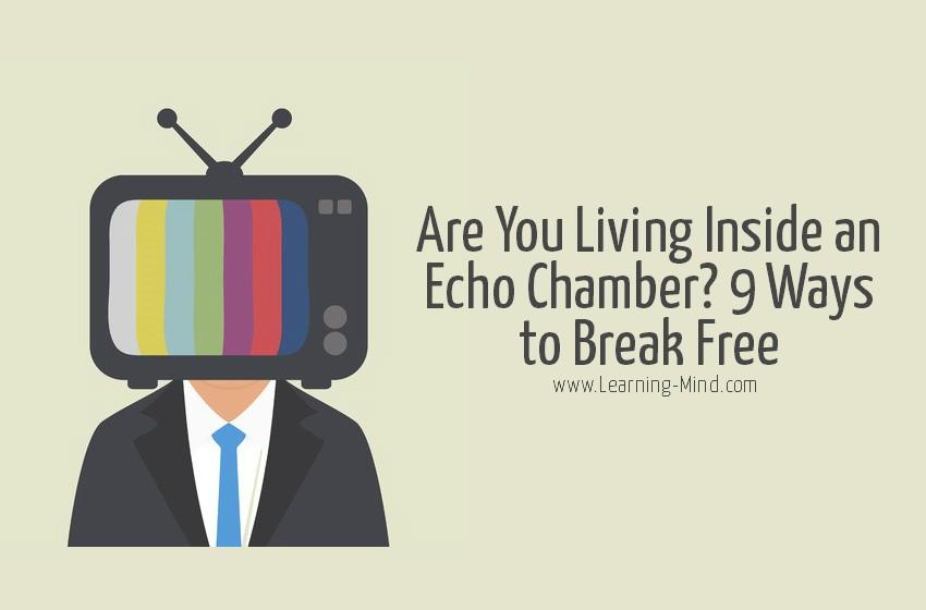 echo chamber break free