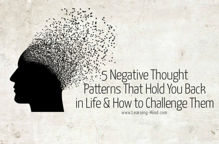 5 Negative Thought Patterns and How to Challenge Them