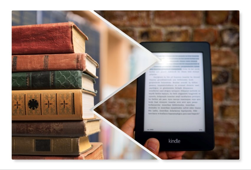 printed books vs ebooks
