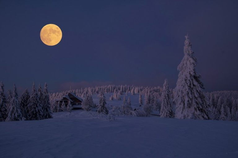 Spectacular Super Snow Moon Phenomenon Not to Miss This February