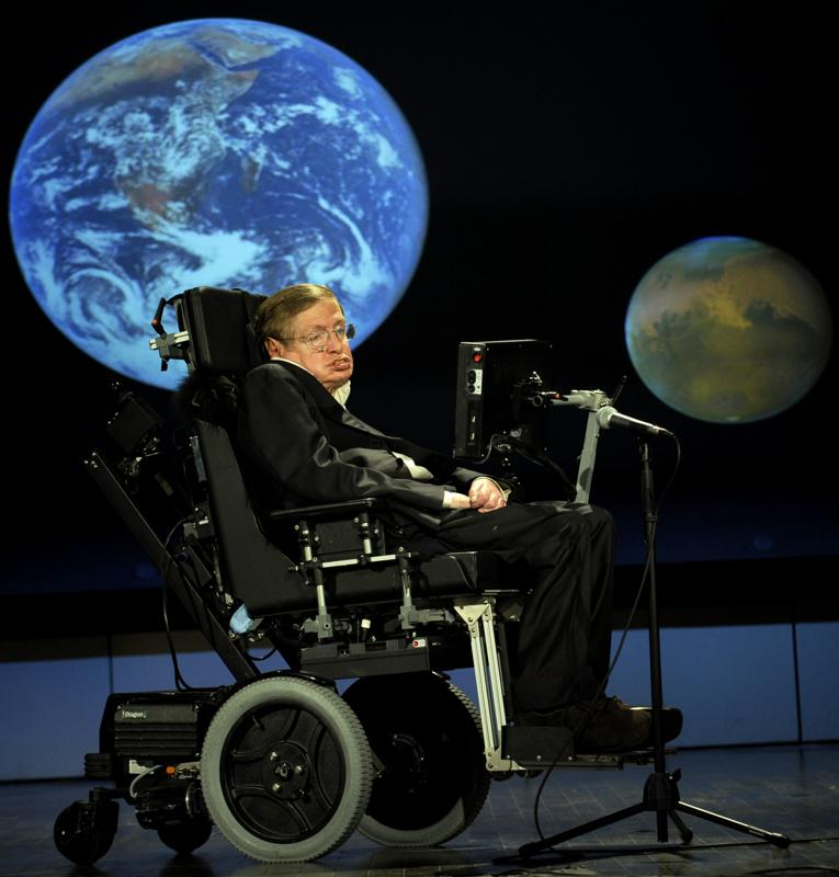 Stephen hawking last words