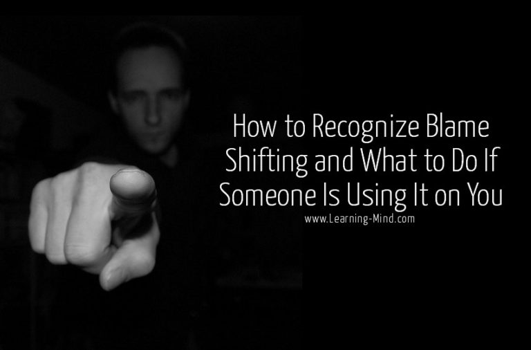 5 Signs of Blame Shifting and How to Deal with It