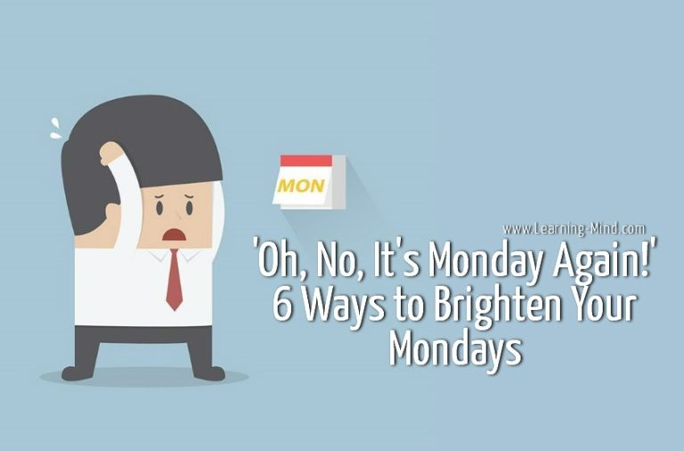 Why We Get Monday Blues & How to Brighten Your Mondays