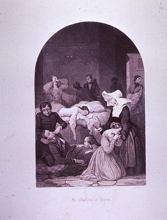cholera epidemic 1832