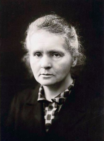 Marie Curie famous intp