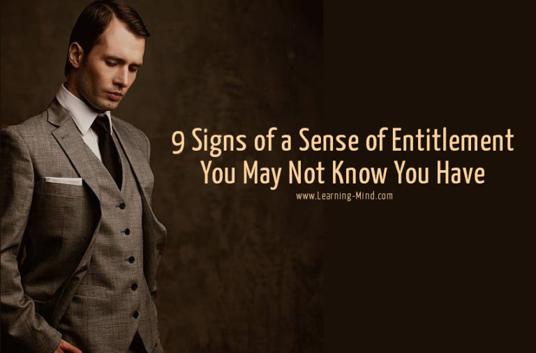 9 Signs of a Sense of Entitlement You May Not Know You Have
