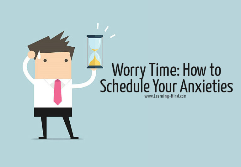 Worry Time: How to Schedule Your Anxieties