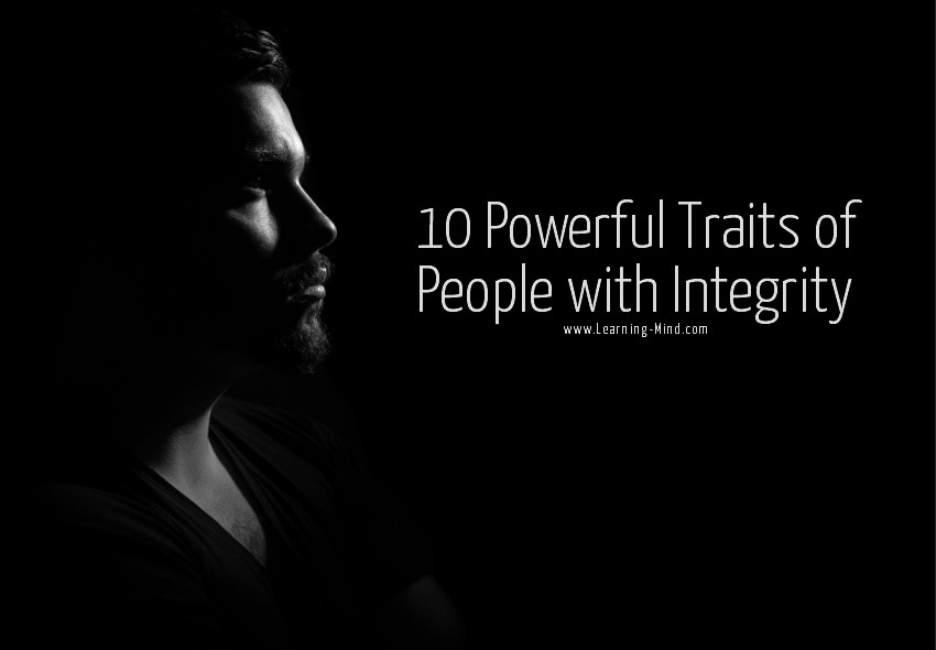 people with integrity traits