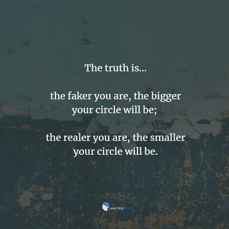 thfaker - 6 Sobering Reasons to Keep Your Circle Small