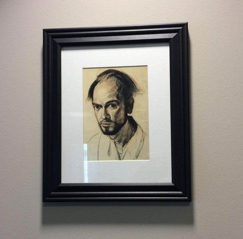 Artist with Alzheimer's 1995