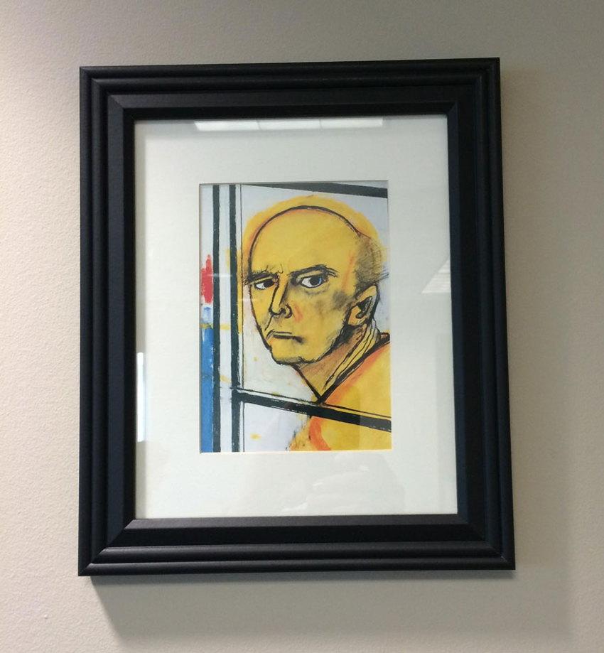 Alzheimer's disease self-portrait 1996