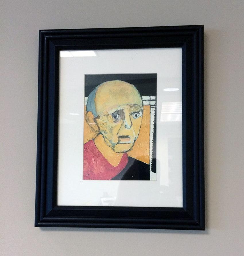 alzheimer's disease self-portrait 1997