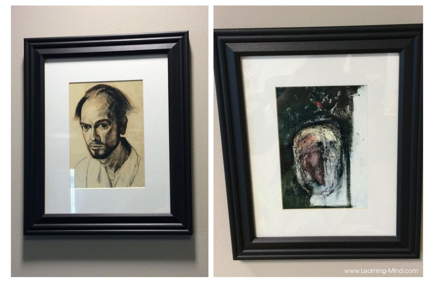 Artist with Alzheimer's Drew Himself for 5 Years: Here Are His First and Last Self-Portraits