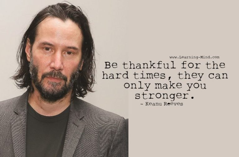 7 Keanu Reeves Quotes That Convey Powerful Messages about Life
