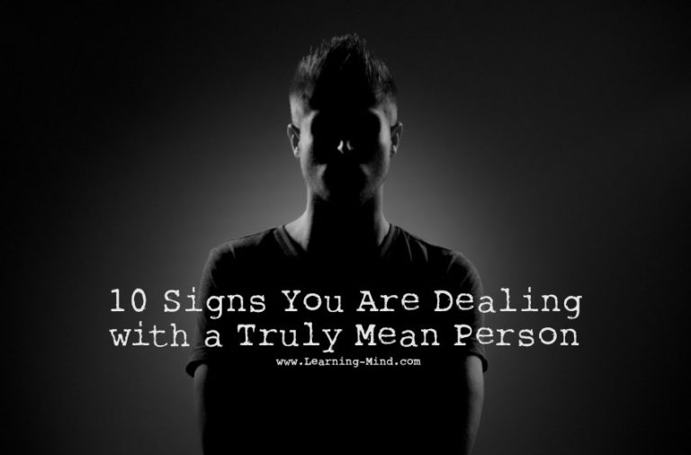 10 Traits of a Mean Person: Are You Dealing with One?
