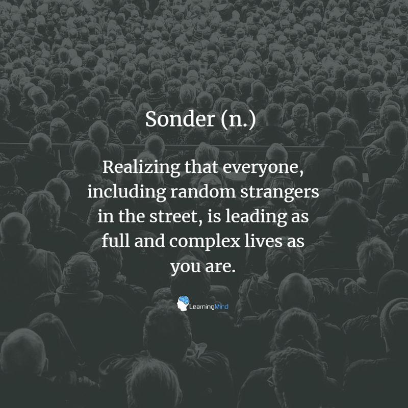 Sonder definition