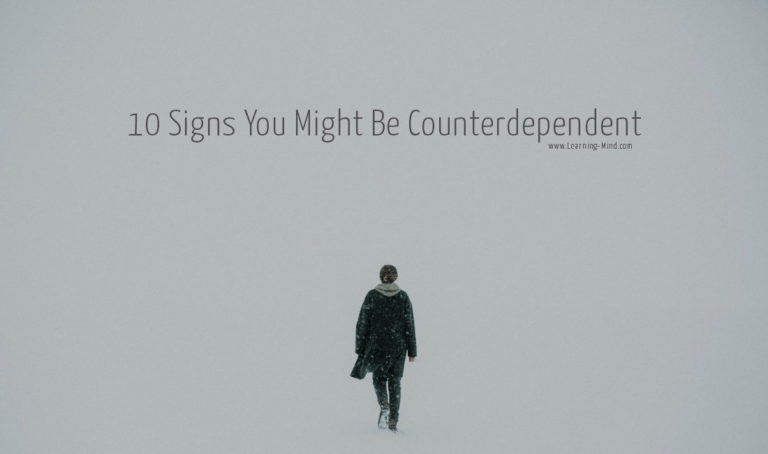 What Is Counterdependency? 10 Signs You Might Be Counterdependent