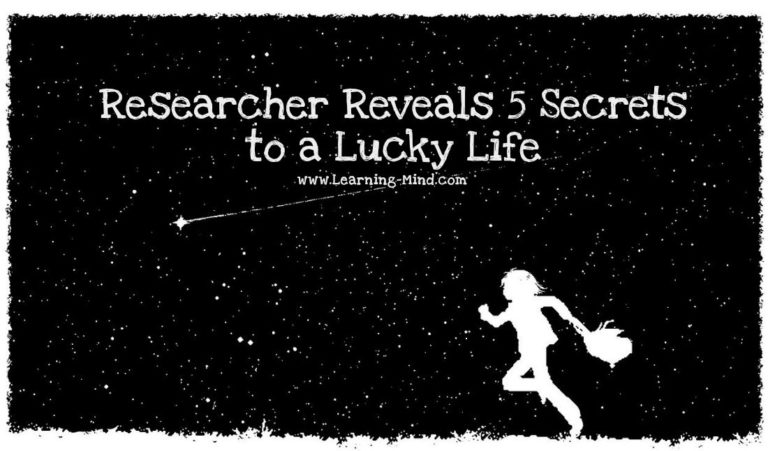 5 Secrets to a Lucky Life, Revealed by a Researcher