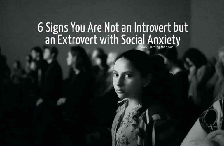 6 Signs You Are an Extrovert with Social Anxiety, Not an Introvert