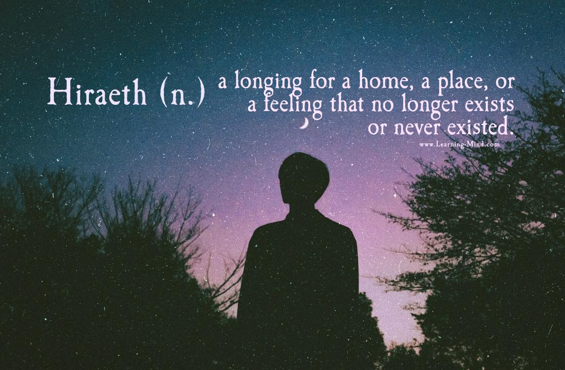 Hiraeth: an Emotional State That Affects Old Souls and Deep Thinkers